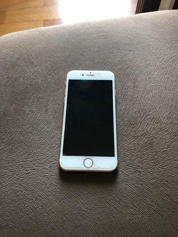 Iphone 8 rosa 64gb completo