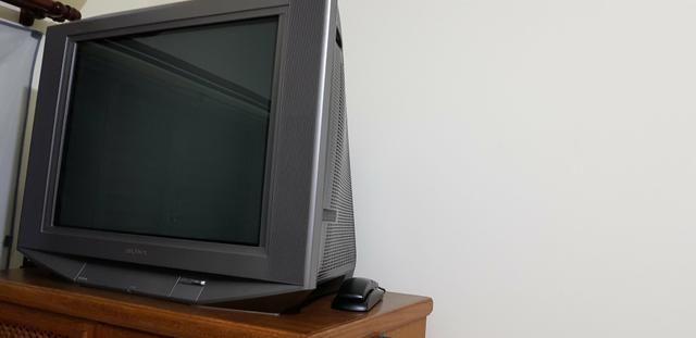 TV SONY 27 polegadas tubo tela plana