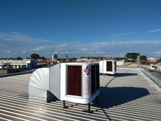 Climatizador industrial e comercial(instalação inclusa)