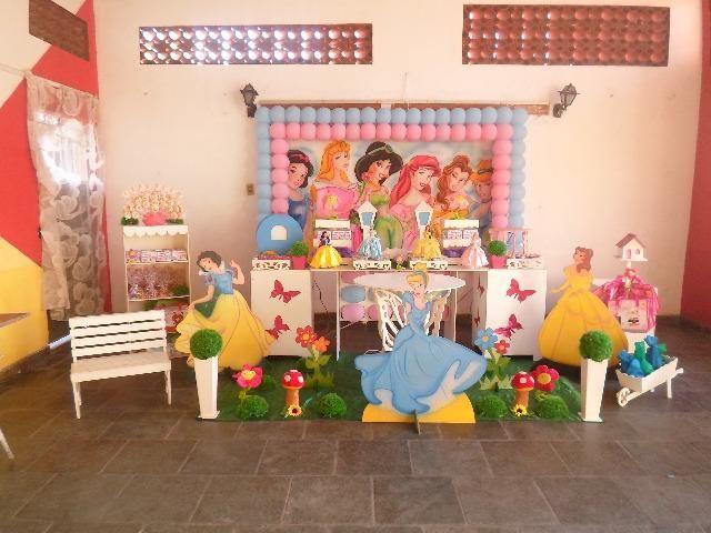 Temas Festa As Princesas