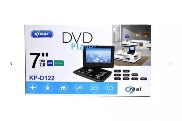 Dvd Player Multimidia Tela Giratoria 7? KP-D122