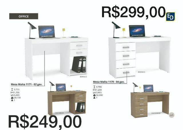 Escrivaninha de estudo ou mesa para escritorio