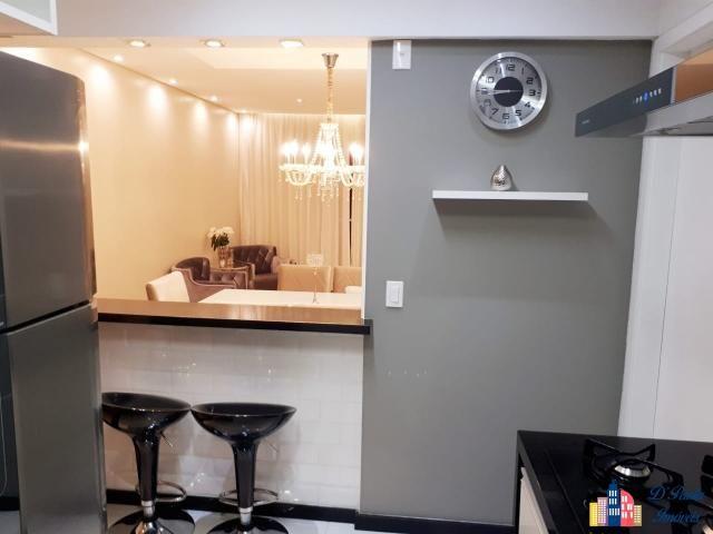 Ap00328 - apartamento com lindo acabamento no cond. parque barueri! - Foto 6