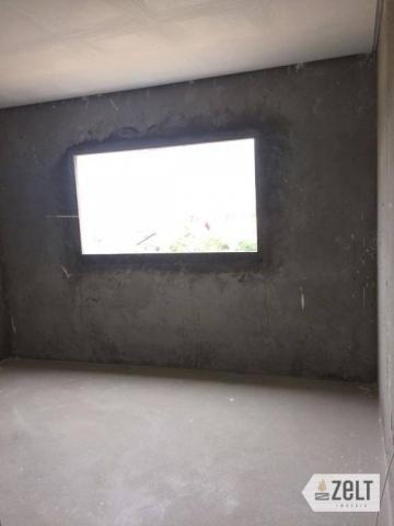 Apartamento com 3 dormitórios à venda, 91 m² por r$ 300.000 - sol - indaial/sc - Foto 14