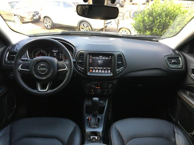Jeep Compass Longetude 2.0 2018 Flex Automático - Foto 10