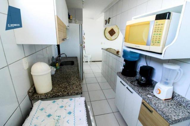 Apartamento Duplex com 5 dormitórios para alugar, 130 m² por R$ 4.500,00/mês - Mucuripe -  - Foto 16