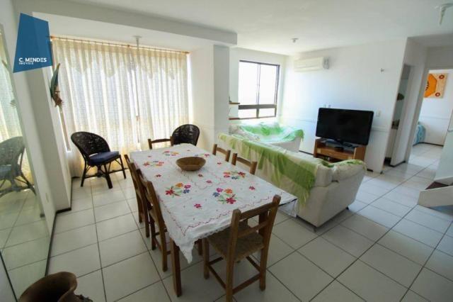 Apartamento Duplex com 5 dormitórios para alugar, 130 m² por R$ 4.500,00/mês - Mucuripe -  - Foto 11