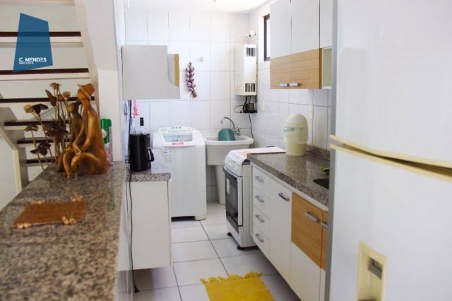 Apartamento Duplex com 5 dormitórios para alugar, 130 m² por R$ 4.500,00/mês - Mucuripe -  - Foto 12