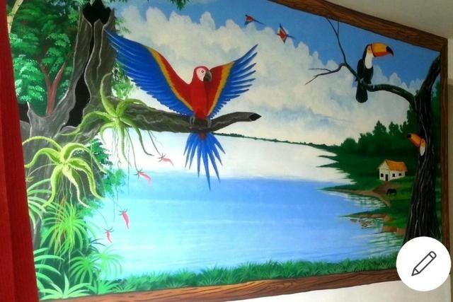 Apto. mobiliado próx à Sefaz, Manauara, Tj e Inpa com Pintura Regional