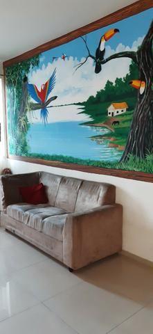 Apto. mobiliado próx à Sefaz, Manauara, Tj e Inpa com Pintura Regional - Foto 3