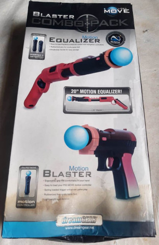 Blaster Combo Pack para PS3 Dreamgear