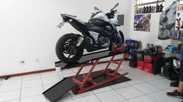 Elevador de motos 350 kg de fabrica - Foto 4