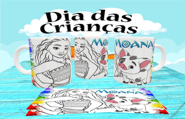 Canecas personalizada para colorir - Foto 6