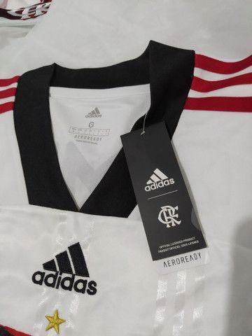 Camisa Flamengo II branca 2020 - Foto 2