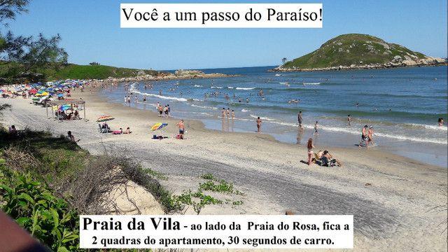 Alugo apartamento de temporada em Imbituba SC centro praia da vila e apto praia do rosa - Foto 4