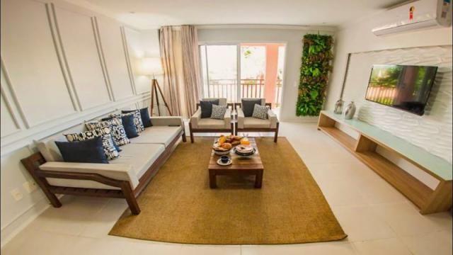 Wellness Beach Park Resort - Apartamento á Venda com 4 quartos, 2 vagas, 121m² (AP0381) - Foto 2