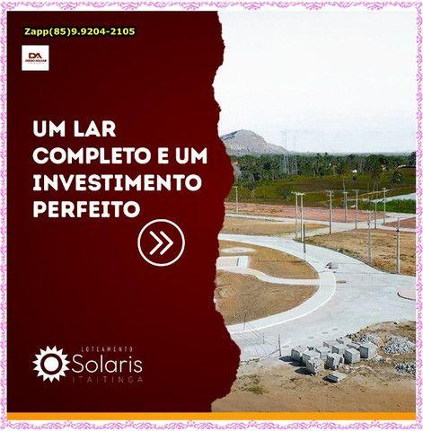 Lotes Solaris em Itaitinga -$$$ - Foto 8