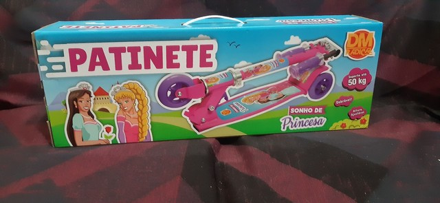 Patinete sonho de princesa- suporta até  50 kilos-  - Foto 5