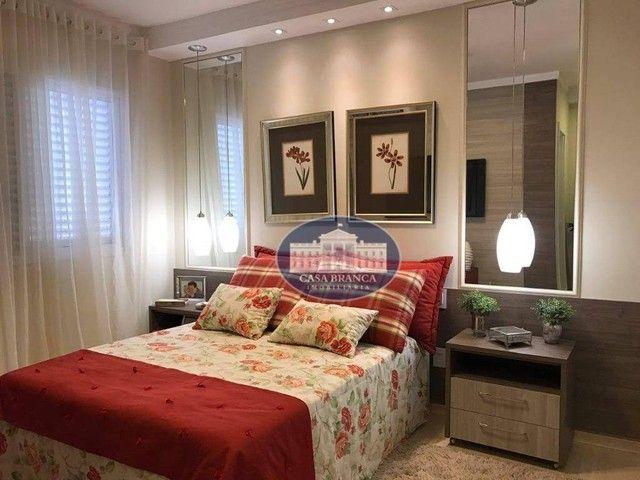 Apartamento com 2 dormitórios à venda, 84 m², lazer completo - Parque das Paineiras - Biri - Foto 5