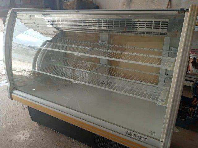 Balcão gelado (Expositor horizontal)