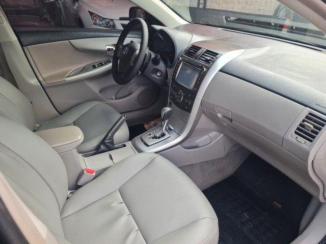 Toyota Corolla XEI ano 2012 automatico  - Foto 8
