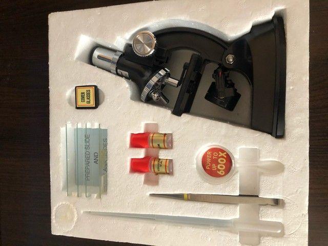 Microscópio Marca Hunter (infantil) - Anos 80 em excelente estado - Foto 2