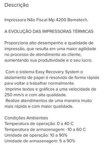 Kit Automação - Impressora Não Fiscal + Leitor Código de Barras - Foto 4