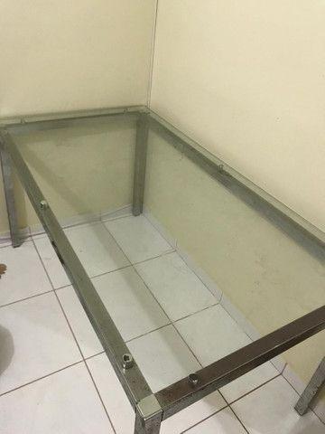 Mesa de vidro  - Foto 3