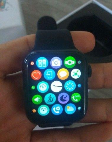 Smartwatch HW12 _ FAZ E RECEBE LIGAÇÃO _ ACEITO CARTÃO - Foto 3