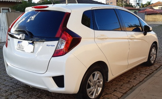 Honda Fit Cvt Branco 2015. Excelente.  - Foto 7
