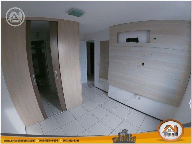 Apartamento com 3 dormitórios à venda, 64 m² por R$ 250.000 - Maraponga - Fortaleza/CE - Foto 14