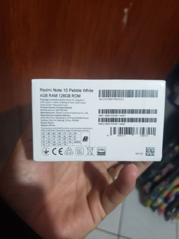 Redmi note 10 128 gb lacrado  - Foto 2