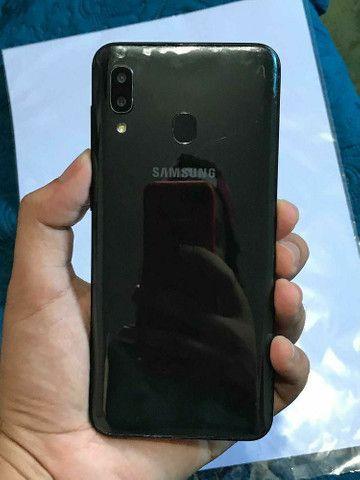 Samsung A20/ 2020 /32GB três meses de uso ! - Foto 3