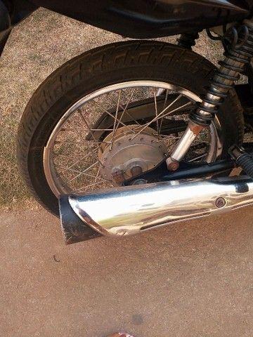Vendo moto Fan 125 bem conservada ano 2012  - Foto 5