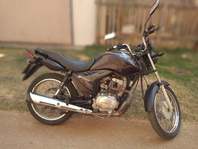 Vendo moto Fan 125 bem conservada ano 2012  - Foto 2