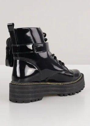 Bota Coturno Sapato Feminino Chiquiteira Chiqui/40020 - Foto 3