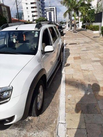 Renault Duster - branca - automático - único dono - Foto 9