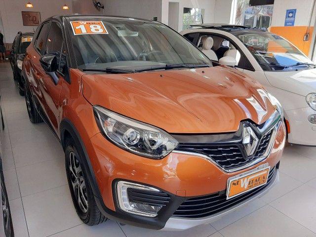 Renault Captur Intense 1.6 automatico CVT 2018 único dono. Revisões na concessionária. - Foto 2