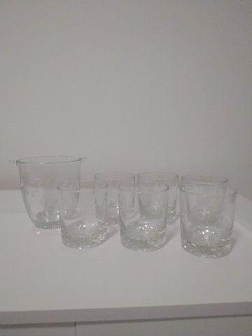 Copos Whisky 6 unidades + 1 Balde de Gelo - Foto 4