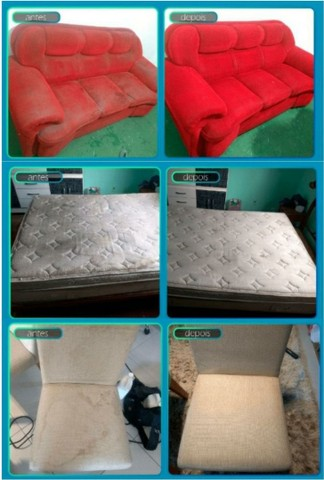 Higienização e impermeabilização de sofás / Estofados - Foto 3