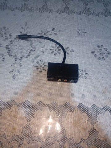Adaptador 4 pinos S video Y Pr Pb/AV para S video