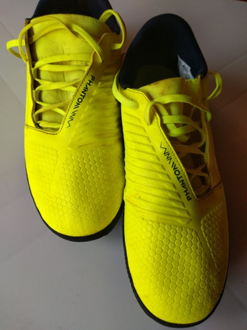 Chuteira Society Nike Phantom Venom Club TF - Verde Limão - Foto 5
