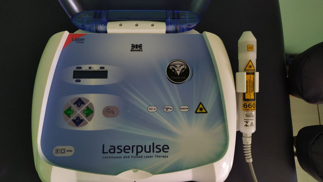 Laserpulse IBRAMED com caneta 660nm - Foto 4