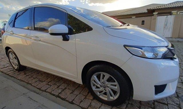 Honda Fit Cvt Branco 2015. Excelente.  - Foto 13