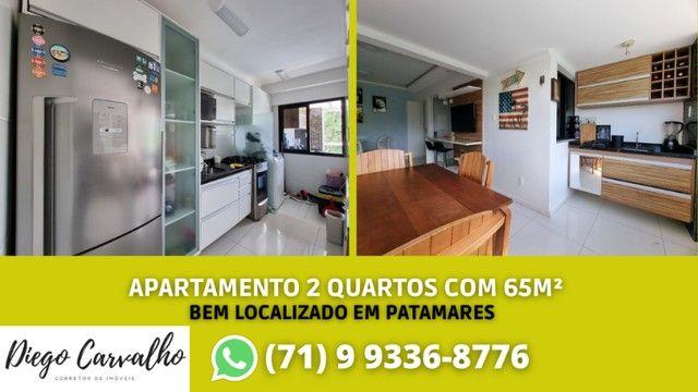 Apartamento em Patamares, 2 quartos e com suíte - Bosque Patamares (R3)