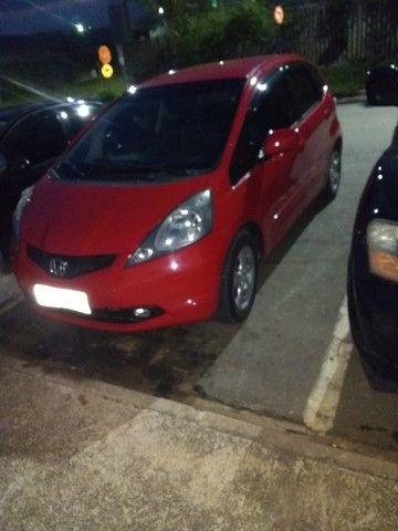 Vendo Honda fit 2009 vermelho 31 mil - Foto 5