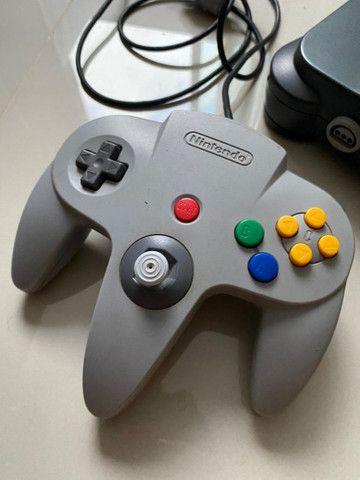 Nintendo 64 - Original! Completo!!! - Foto 5