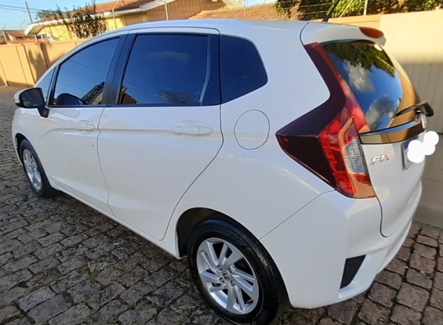 Honda Fit Cvt Branco 2015. Excelente.  - Foto 2