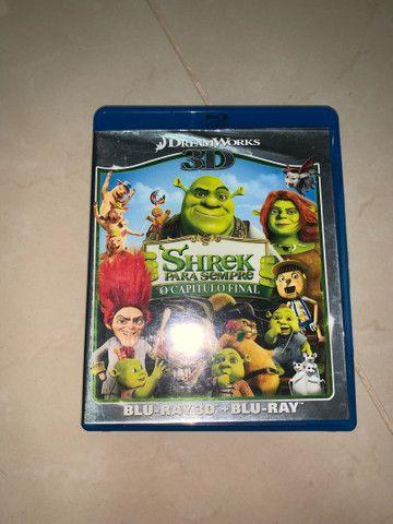 DVD Blu-ray 3D Shrek Para Sempre