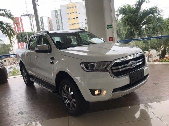 Ford Ranger Limited 3.2 Diesel 4x4 200hp zero km - Foto 3